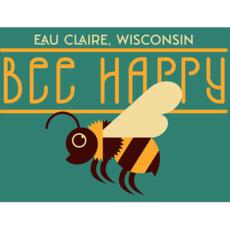 Volume One Die-Cut Stickers - Bee Happy