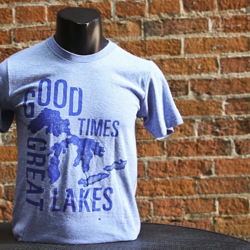 Wiskullsin Good Times Great Lakes Tee