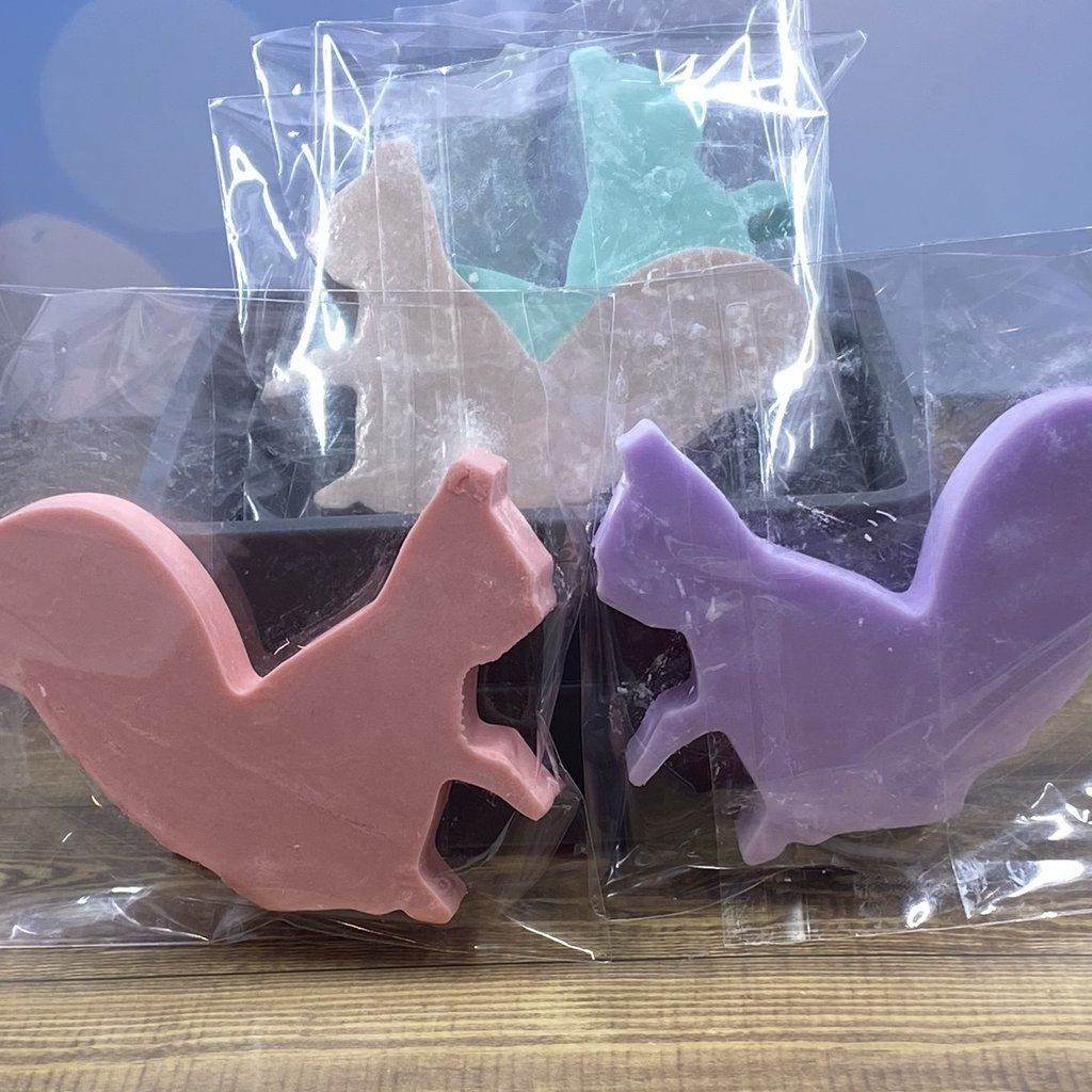 Squirrel Shaped Soap
