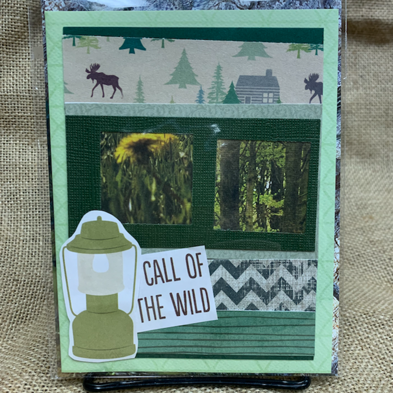 Cari Raynae Call of the Wild Greeting Card