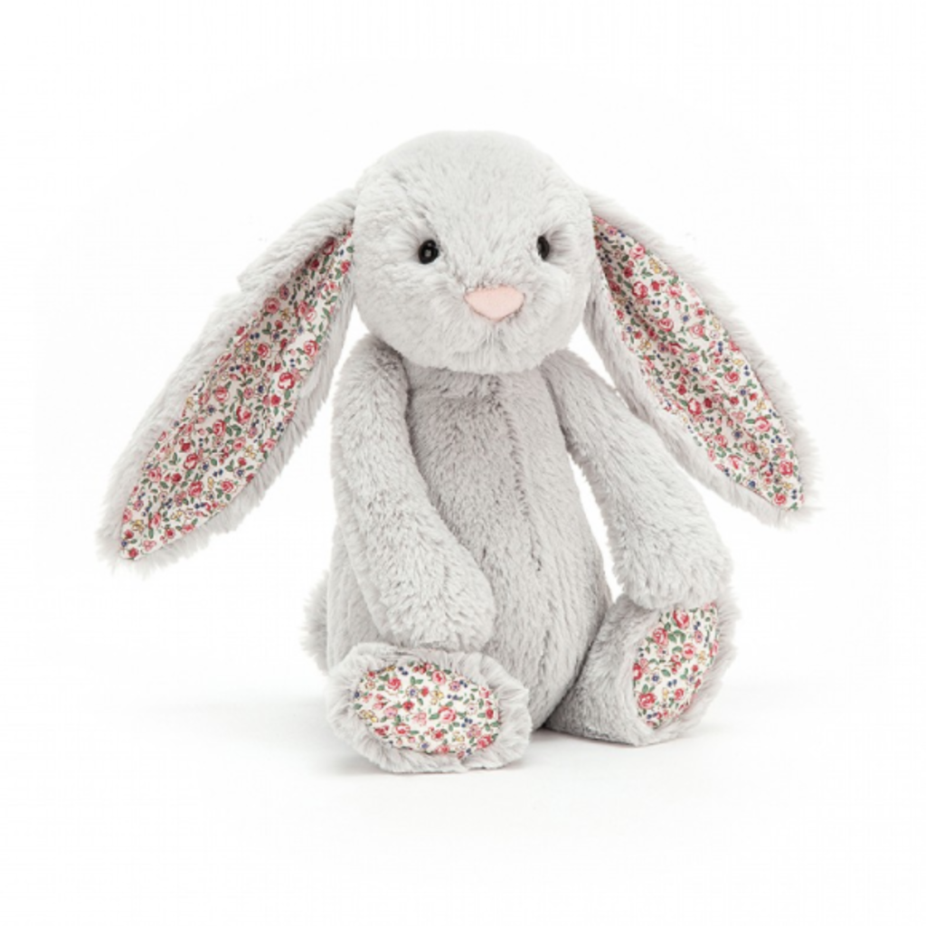 Jelly Cat Plush Animal - Grey Bunny