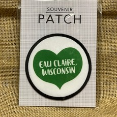 Volume One Patch - Wisconsin Heart (Green)
