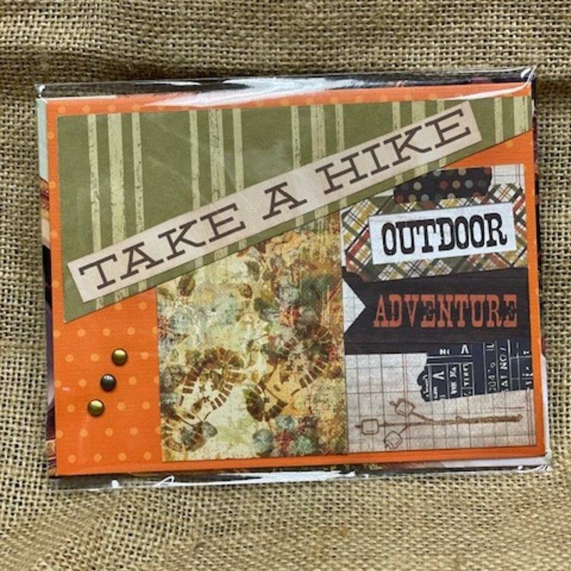 Cari Raynae Take A Hike Greeting Card
