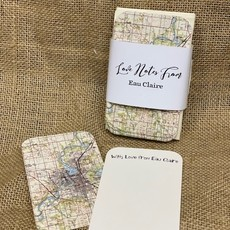 Volume One Mini Love Notes from Eau Claire (20 Map Notecards)