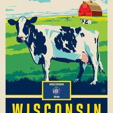 Wisconsin State Pride (The Badger State) Print