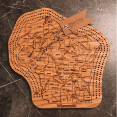 Wisconsin Cribbage Board -Triple Track