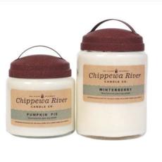 Chippewa River Candle Co. Lemongrass Sage Large Apothecary Jar Candle 28 oz