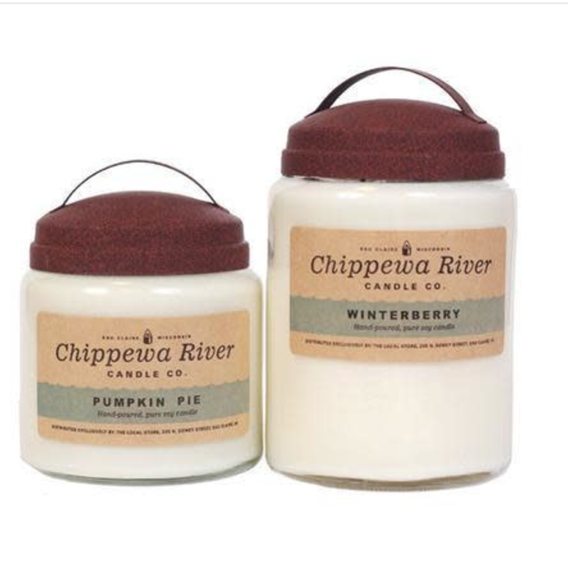 Chippewa River Candle Co. Lavender Vanilla Large Apothecary Jar Candle 28 oz