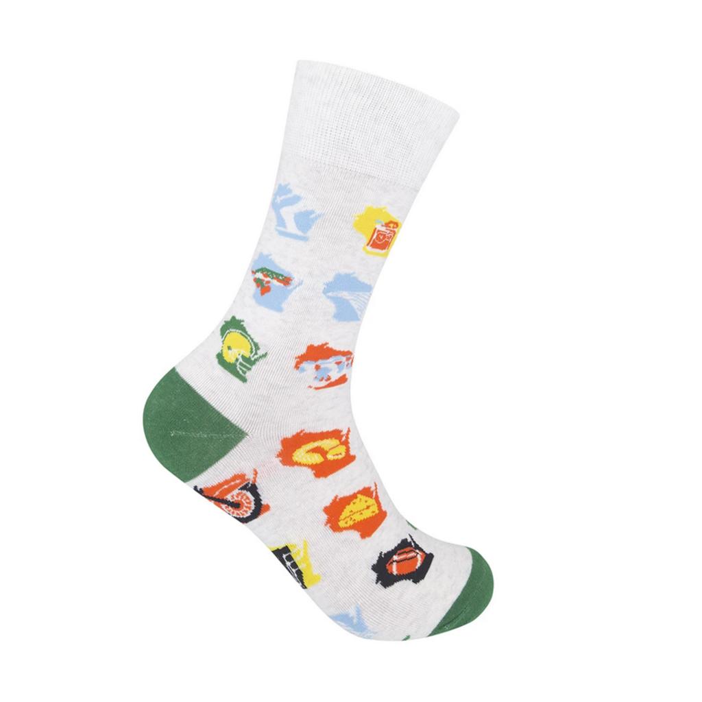 Volume One Socks - Wisconsin Months