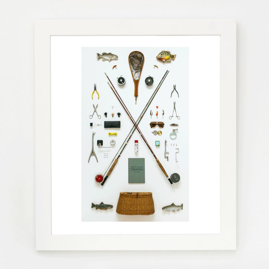 Fly Fisherman Art Print (11x14)