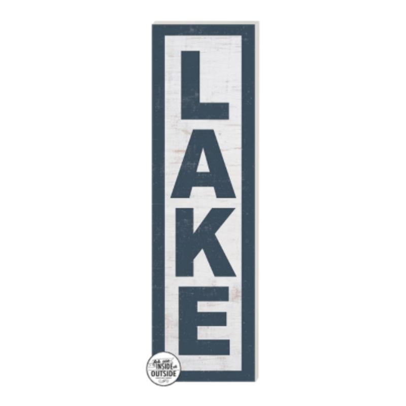 35 x 10 Lake Whitewash Indoor/Outdoor Sign
