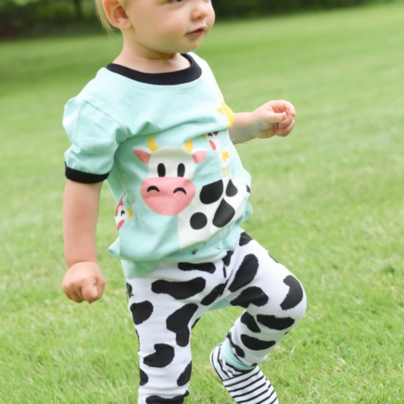 Volume One Cow Shirt - Toddler Tee