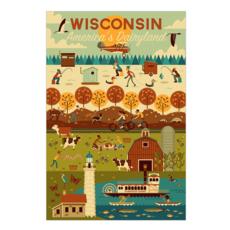 Volume One Wisconsin Seasons Puzzle