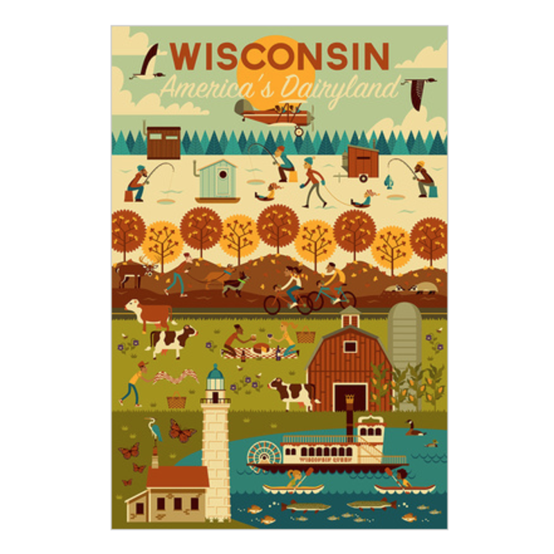 Volume One Wisconsin Seasons Puzzle