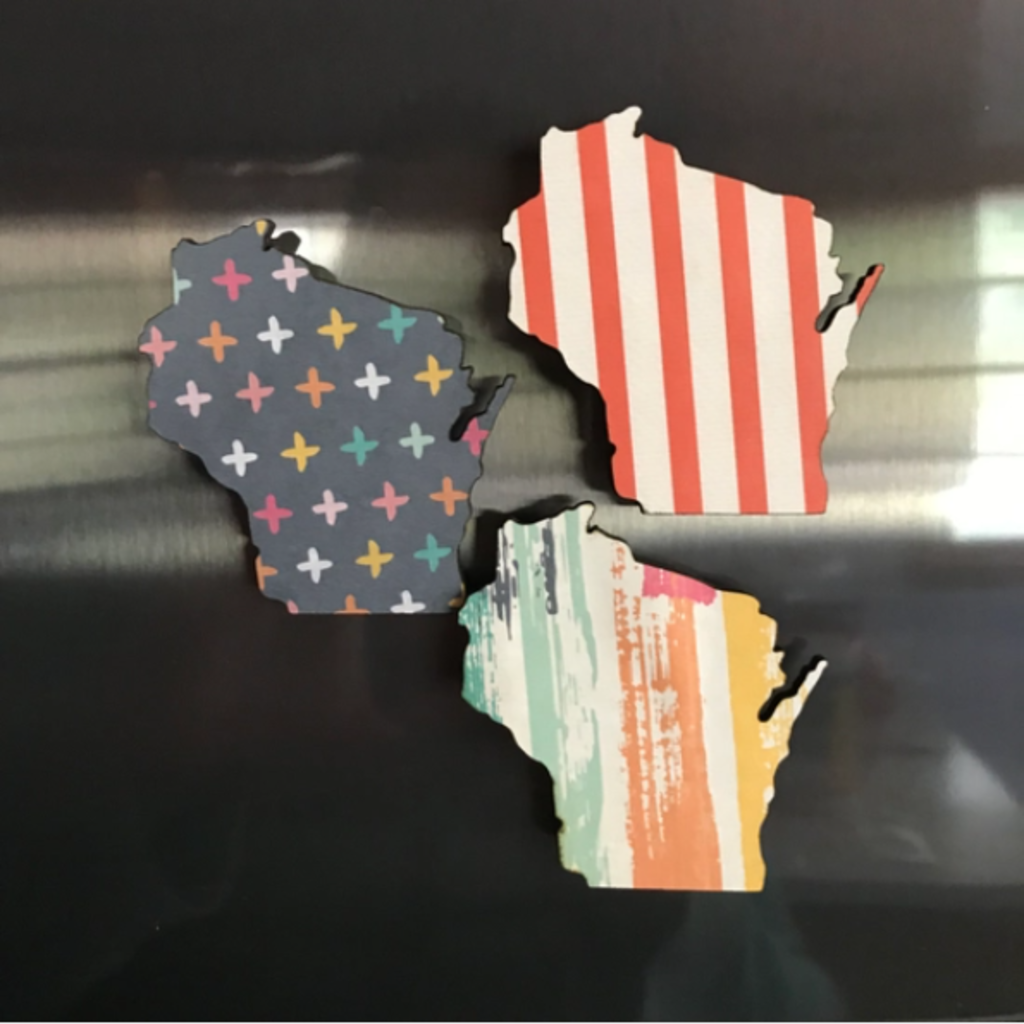 Wisconsin Patterned Magnet
