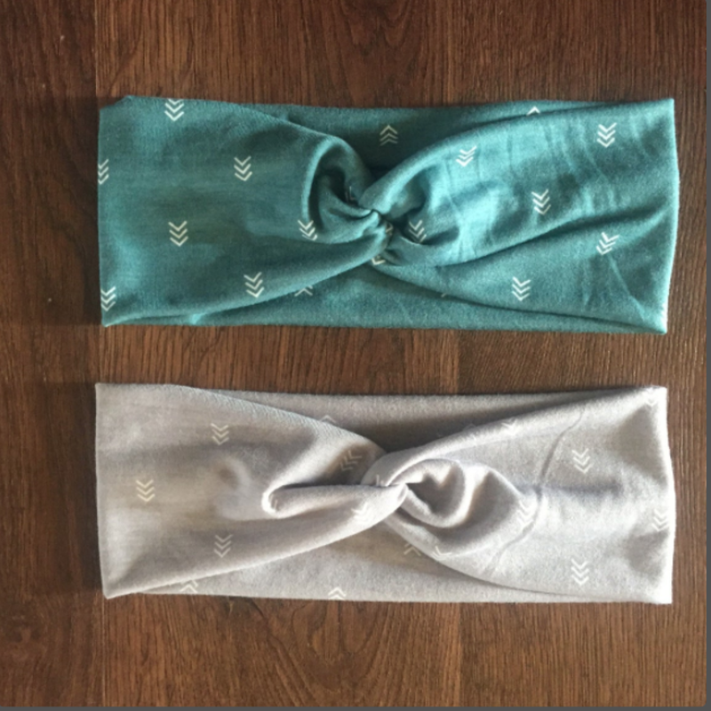 Adult Knotted Headband (Assorted)