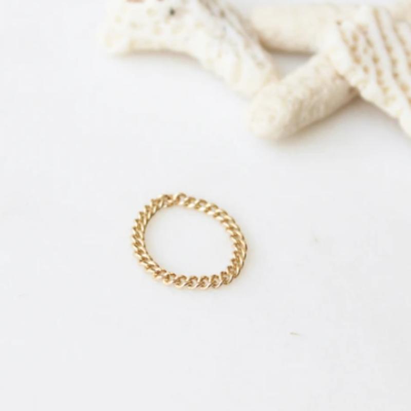 Adorn Jewelry Dani Chain Ring - Gold