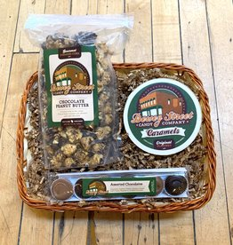 Volume One Gift Basket - Caramels & Chocolates