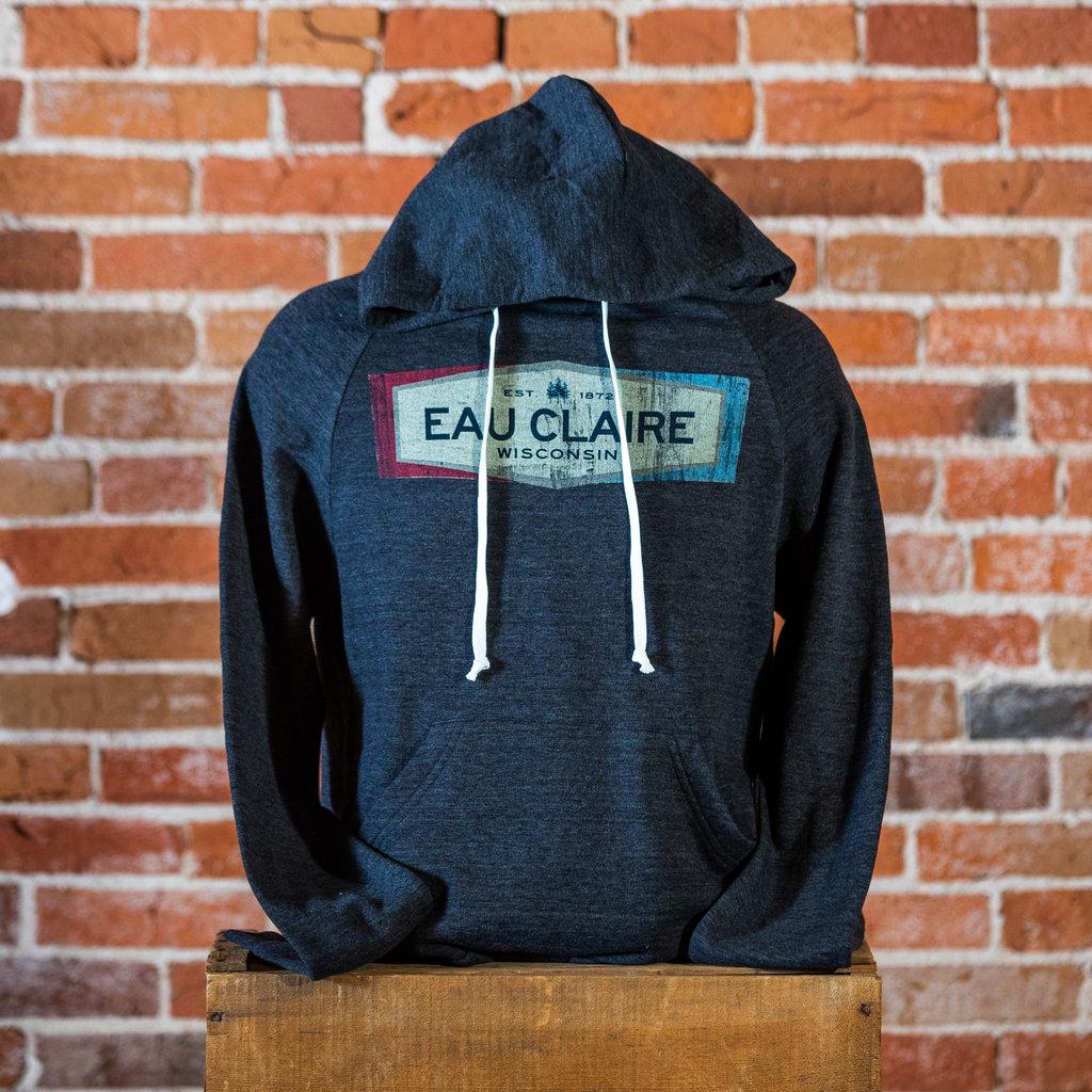 Volume One Eau Claire Est. Triblend Fleece Hoodie (Gray)