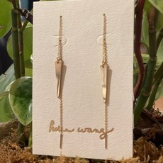 Helen Wang Jewelry Earrings- 14k Gold-filled Spike Threaders