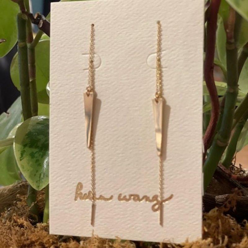 Helen Wang Jewelry Earrings- 14k Gold-filled Spike Threaders