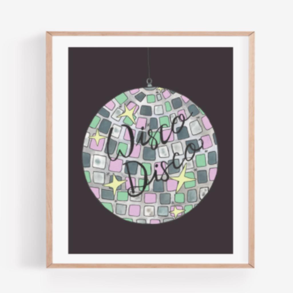 Persika Design Wisco Disco Print (8x10)