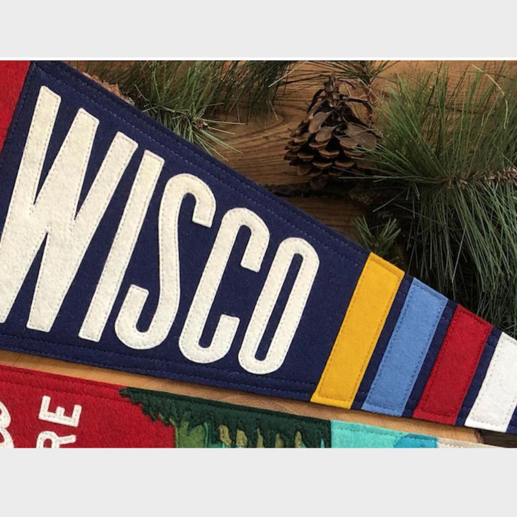 Felt Pennant - Wisco (Flag)