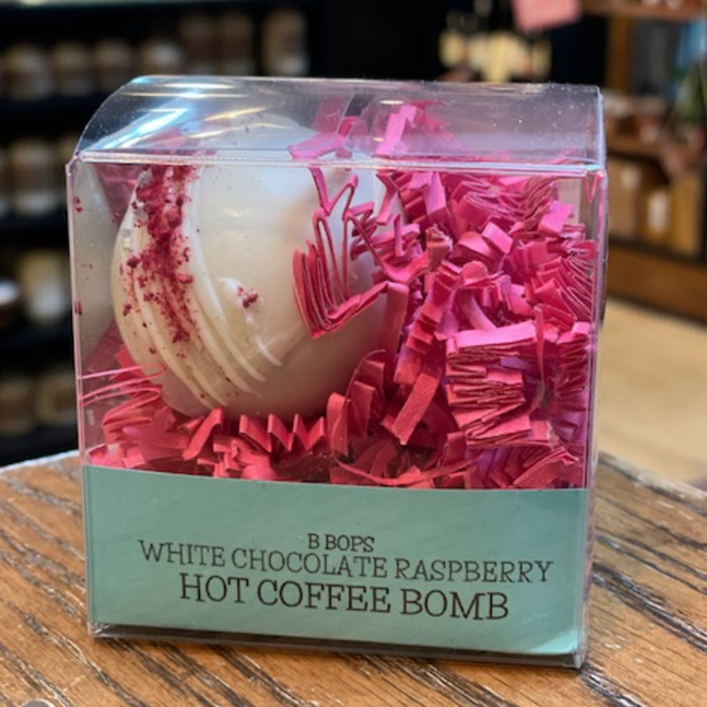 Coffee Bomb - White Chocolate Raspberry