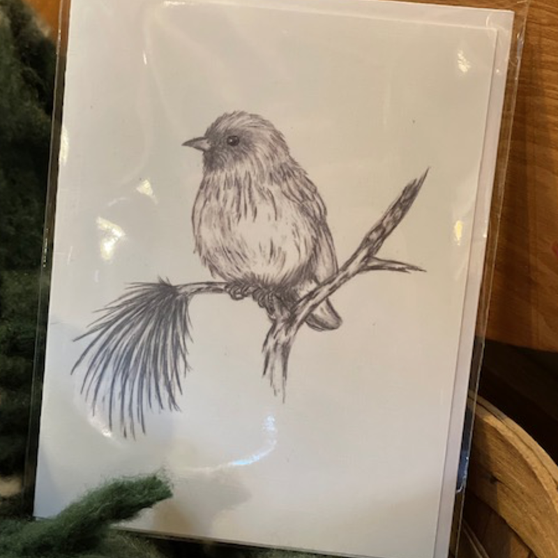 Nadine Bresina Finch Greeting Card