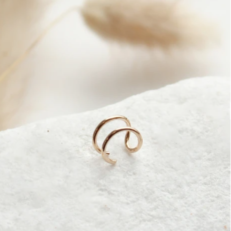 Hello Adorn Jewelry Double Up Ear Cuff