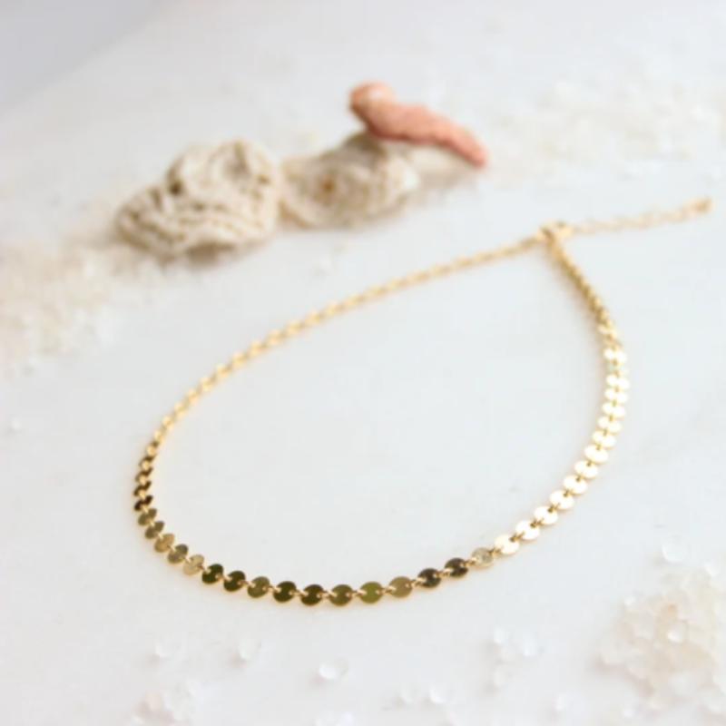 Hello Adorn Jewelry Confetti Choker