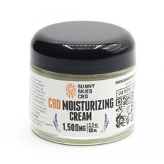 CBD Moisturizing Cream (2.3oz) - 1,500 mg
