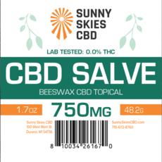 CBD Salve - 750 mg