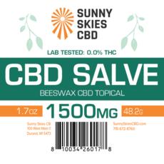 CBD Salve - 1,500 mg