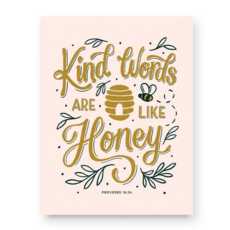 Kind Words Print (11x14)
