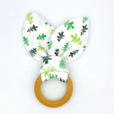 Friendly Forest Organic Cotton/Maple Teether