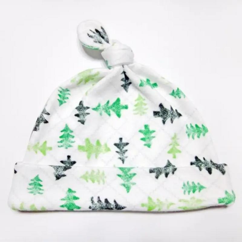 Friendly Forest Organic Cotton Baby Hat (Newborn)