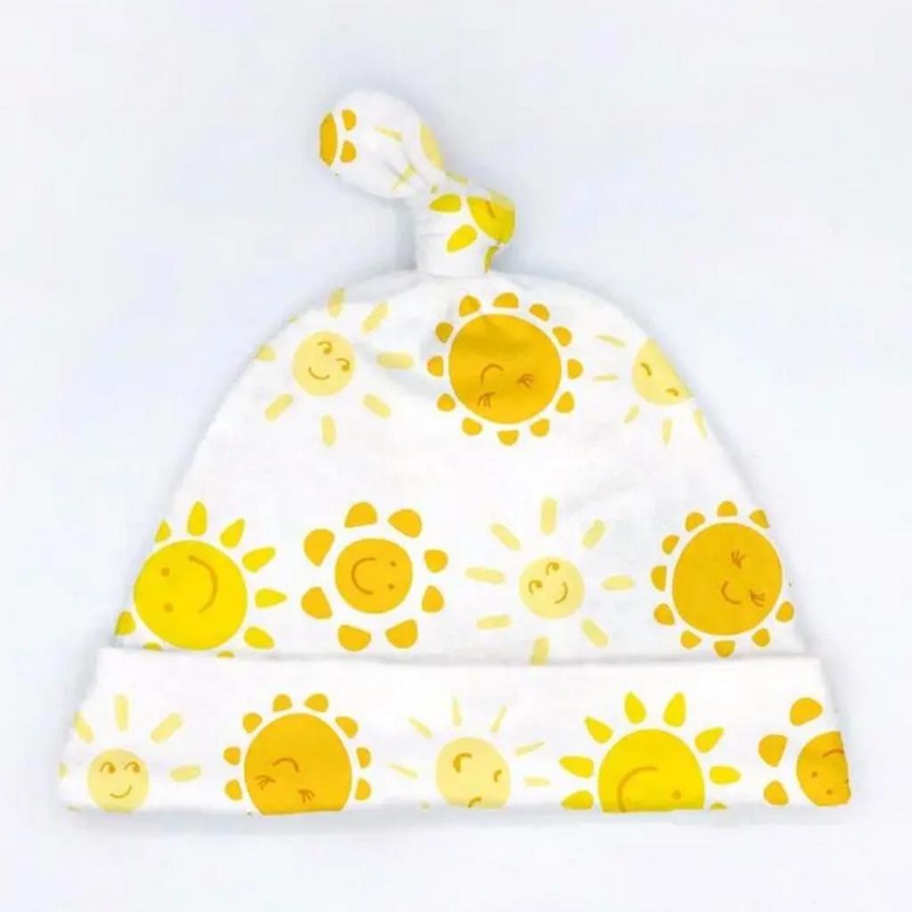 Sunshine Organic Cotton Baby Hat (Newborn)