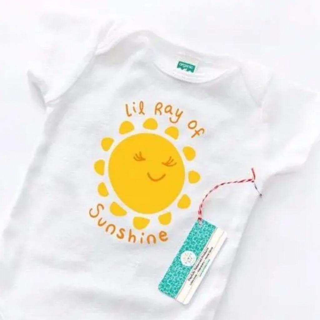 Onesie - Lil Ray Of Sunshine Organic Cotton