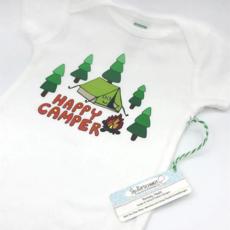 Onesie - Happy Camper Organic Cotton