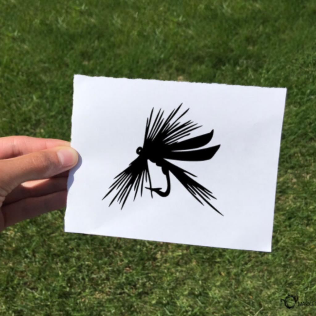 Vinyl Decal - Fly Fishing