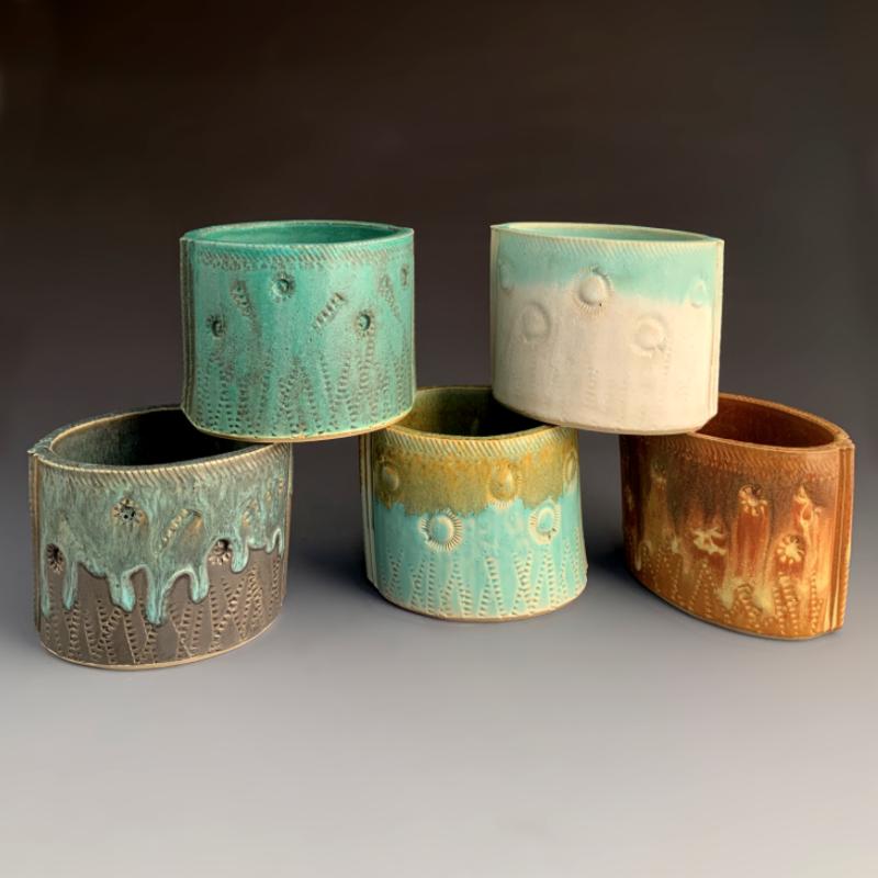 Small Stoneware Planter (assorted)