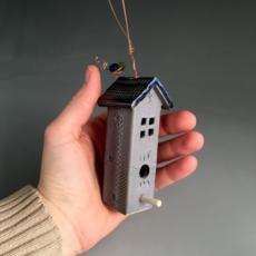 Mini Hanging Birdhouse
