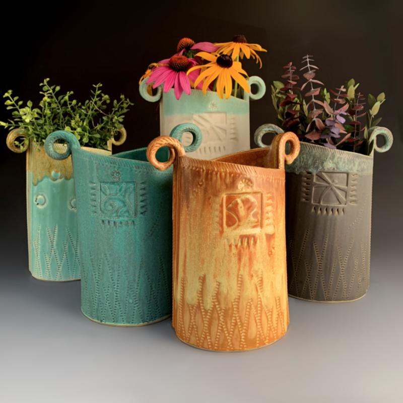 Large Oval Vase (Assorted)