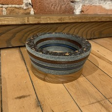 Wood Turned Layered Bowl