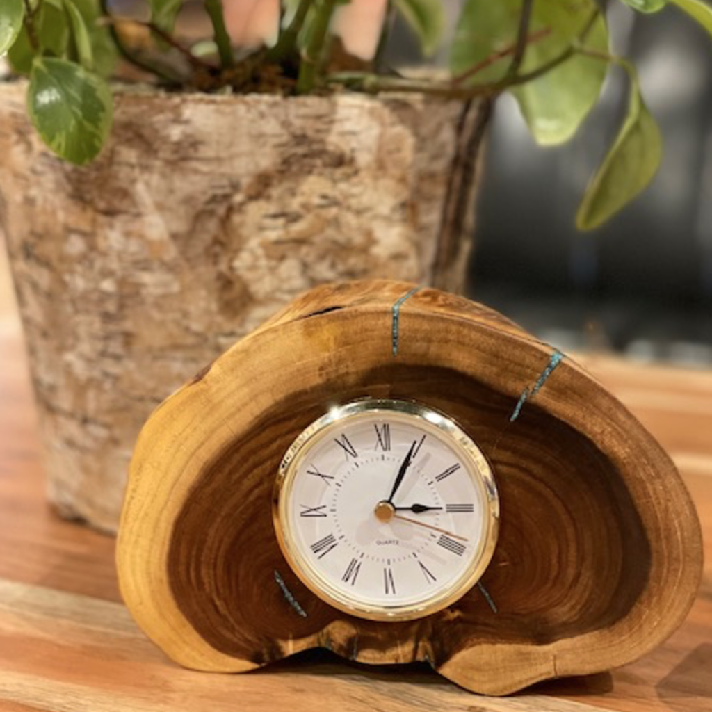 Richard Ryan Wood Clock
