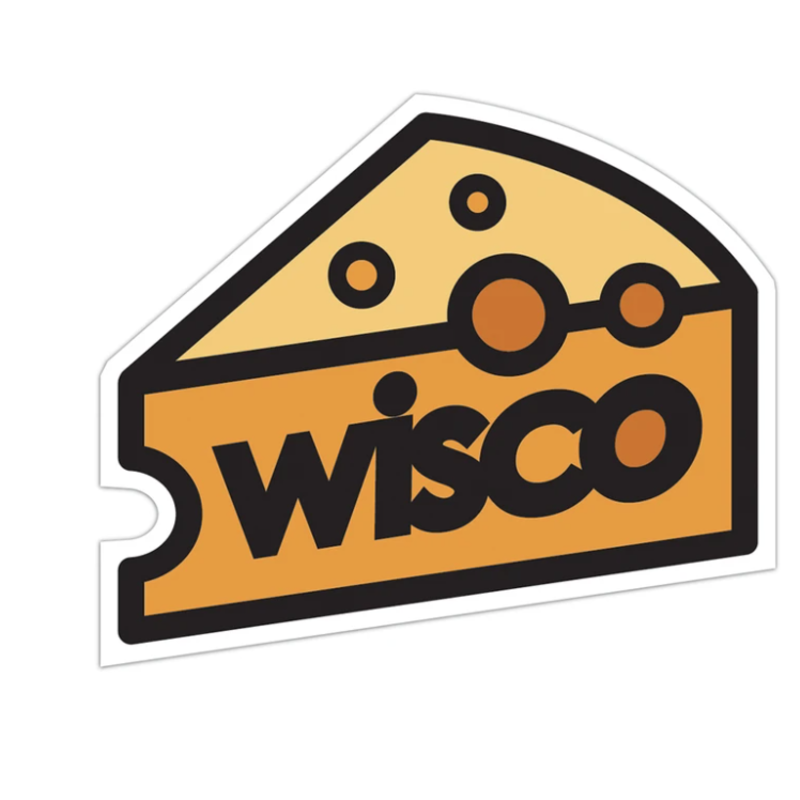 Giltee MKE Sticker - Wisco Cheese