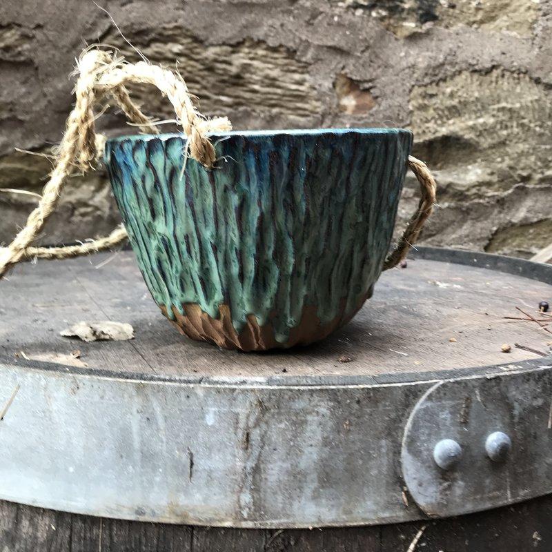 Ann Wrzosek-Manor (Meadowsong Studios) Hanging Bowl - Large