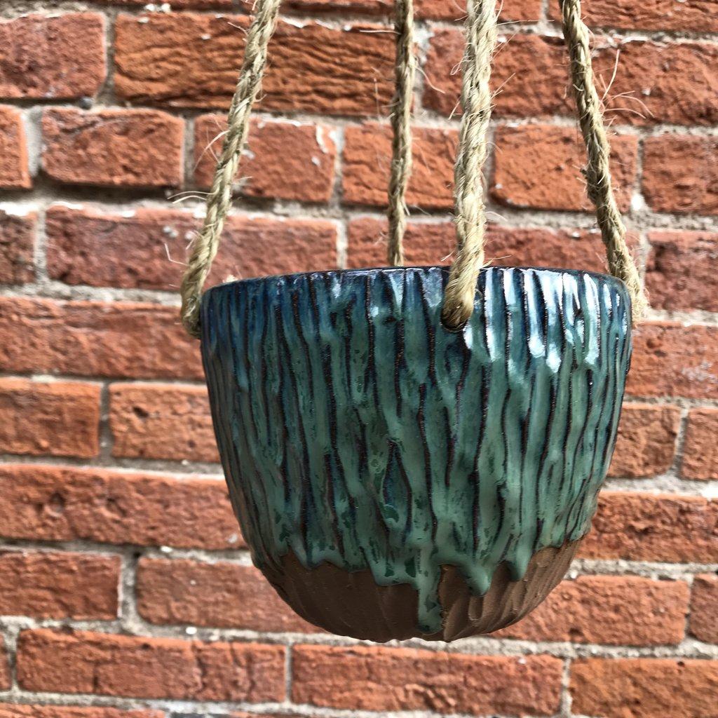 Ann Wrzosek-Manor (Meadowsong Studios) Hanging Bowl - Medium