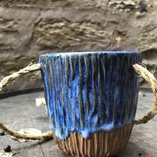 Ann Wrzosek-Manor (Meadowsong Studios) Hanging Bowl - Extra Small